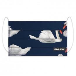 Mondkapje in bio-katoen - Swan Lake