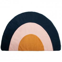 Tapiit Rainbow velvet 105X70 cm - Night blue