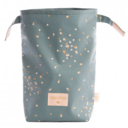 Lunchtas Too cool - Gold confetti & Magic green