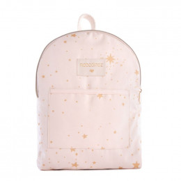 Mini rugzakje Too cool - Gold stella & Dream pink