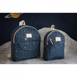 Mini rugzakje Too cool - Gold stella & Night blue