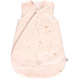 Tussenseizoen slaapzak Cocoon - Gold stella & Dream pink