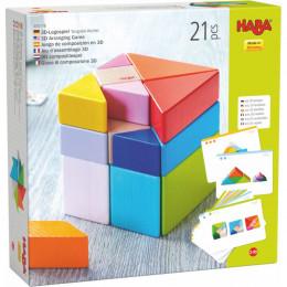 3D-compositiespel Tangram kubus