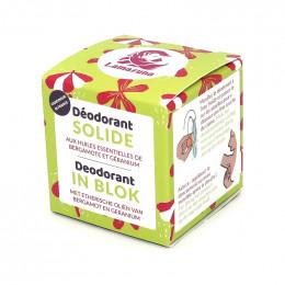 Déodorant solide - Bergamotte et géranium - 30 ml