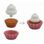 Houten cupcake set