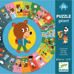 Grote puzzel - De dag