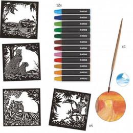 Aquarel workshop - Jungledieren