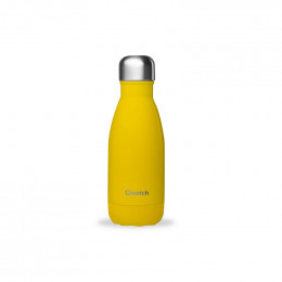 Bouteille isotherme en inox - Pop Jaune - 260 ml