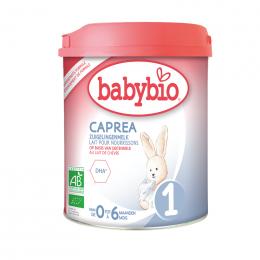 ORGANISCHE opvolgmelk met geitenmelk - CAPREA 1 - van 0 tot 6 maanden