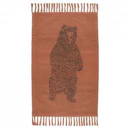 Gebreid vloerkleed - Brave Bear