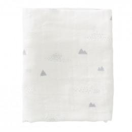 Set van 2 tetradoeken Polar Bear - 120x120 cm