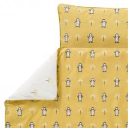 Ledikant dekbedovertrek - Pinguin (100x135)