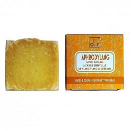 Natuurlijke plantaardige zeep handgemaakt Aphrodylang (Etherische olie van Ylang ylang) 90g
