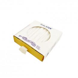 12 witte stofvrije ButterStix® krijtjes
