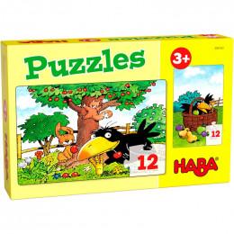 Puzzels - Boomgaard