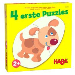 4 eerste puzzels - Jonge dieren