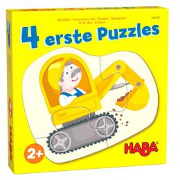 4 eerste puzzels - Bouwplaats