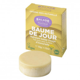 Baulme de jour solide Bio visage - Hydratant - 32 g