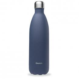Gourde bouteille nomade isotherme - 1 litre - Granite bleu