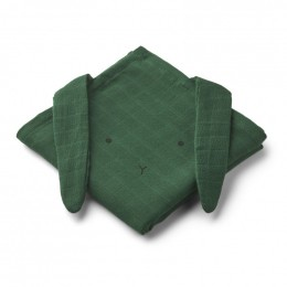 Set Hannah tetradoeken - 2 pack - Rabbit garden green
