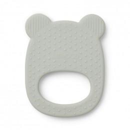 Siliconen Gemma bijtring - Mr bear dusty mint