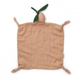 Agnete knuffeldoek - Peach/peach
