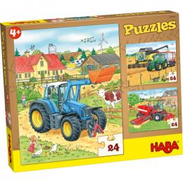 Boederij puzzeldoos - Tractor & co