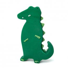 Natuurlijk rubber speeltje - Mr. crocodile