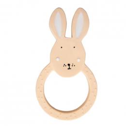 Natuurlijk rubber ronde bijtring  - Mrs. rabbit