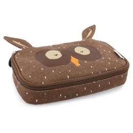 Rechthoekige pennenzak - Mr. owl