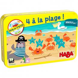 Gezelschapsspel - 4 aan het strand