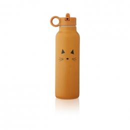 Falk drinkfles 500 ml - Cat mustard