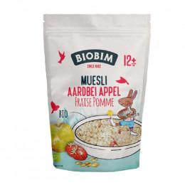 Muesli Bio - Fraise pomme - 150 g - à partir de 8 mois