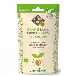 Ontkiemende zaden - Alfalfa Bio