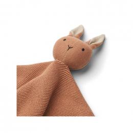 Milo knuffeldoekje - Rabbit tuscany rose