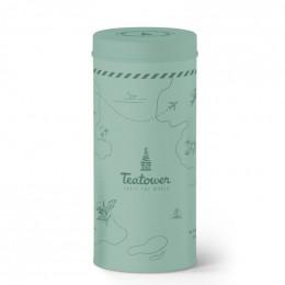 Teatower grijs blauwe doos 100 g