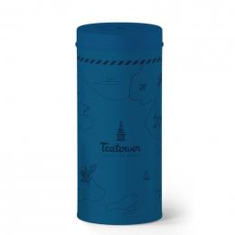 Teatower donkerblauwe doos 100 g
