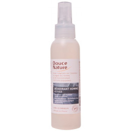 Deodorant vetiver voor mannen zonder aluminium Spray 125 ml