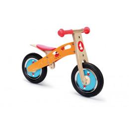 Kleine houten loopfiets - Vliegende vliegen - in hoogte verstelbaar Vanaf 2 jaar